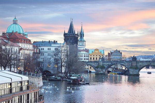 Cadre photo deco Prague