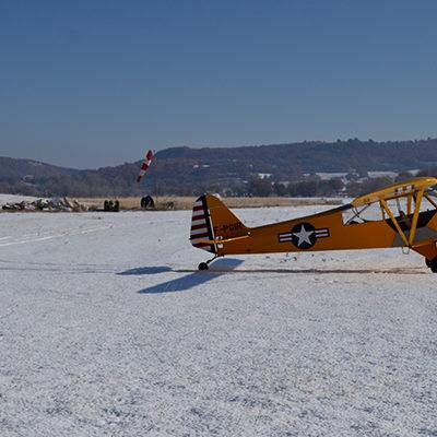 Tableau photo d'avion sur aluminium