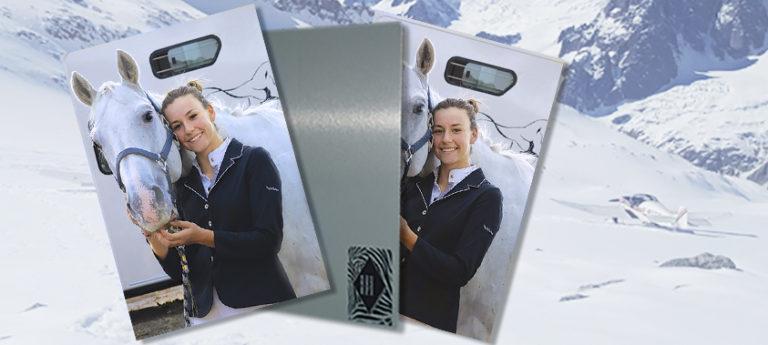 Impression photo sur aluminium
