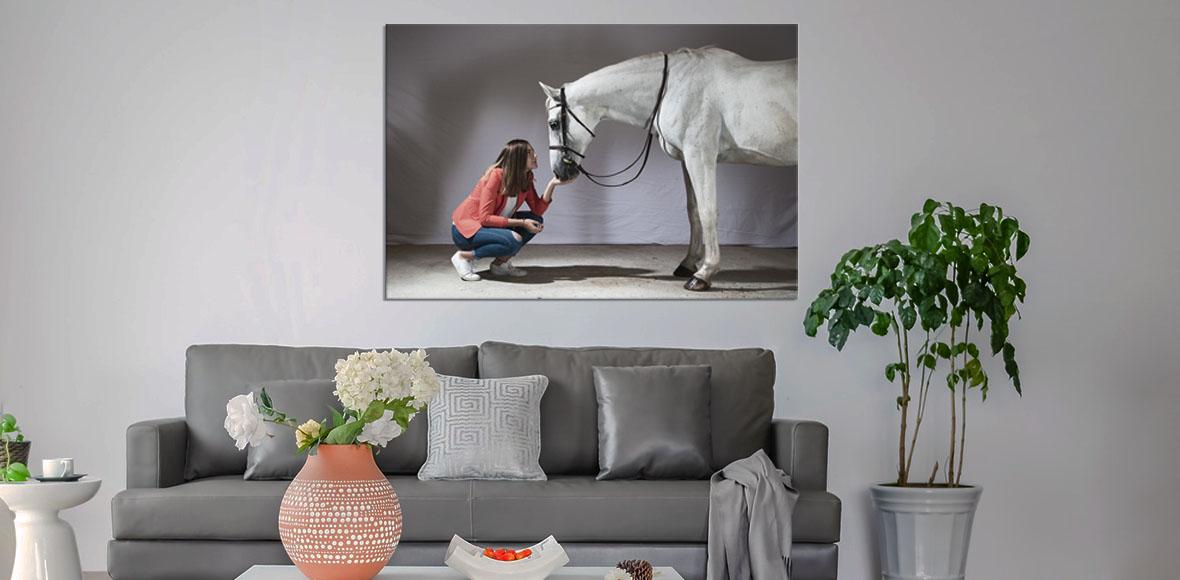 Tirage photo sur aluminium haute qualité