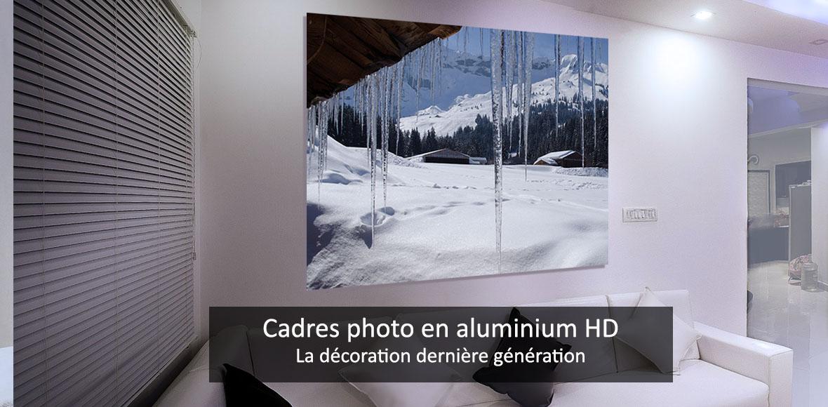 Décoration murale sur aluminium HD