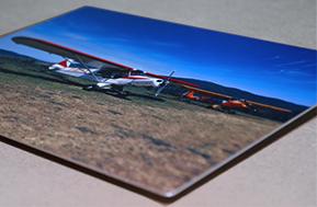 Photo sur aluminium mat